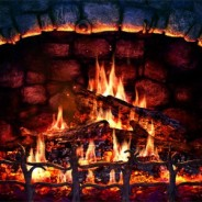Screensaver camino virtuale animato – Fireplace 3D