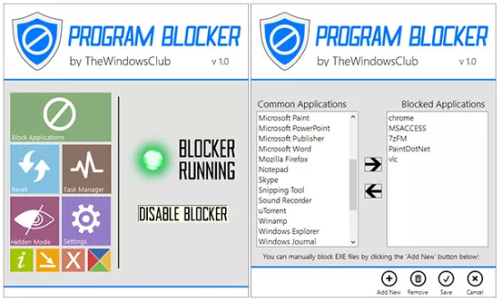 program-blocker