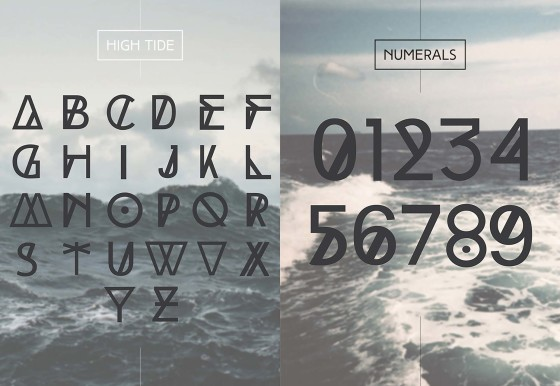 high_tide-free-font