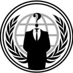 Screenshot di un computer di Anonymous