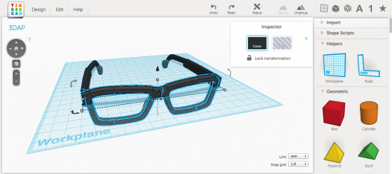 tinkercad creare disegni 3d online con cad