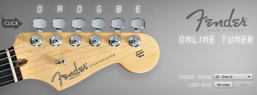 Accordare Fender online