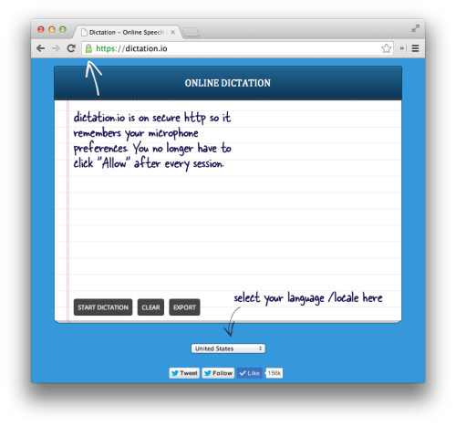 Dictation online