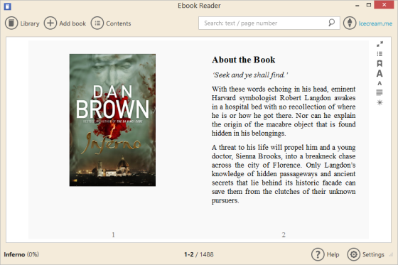 Ebook-reader-icecreamapp
