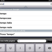 Cercare del testo all'interno di pagine web su iPhone